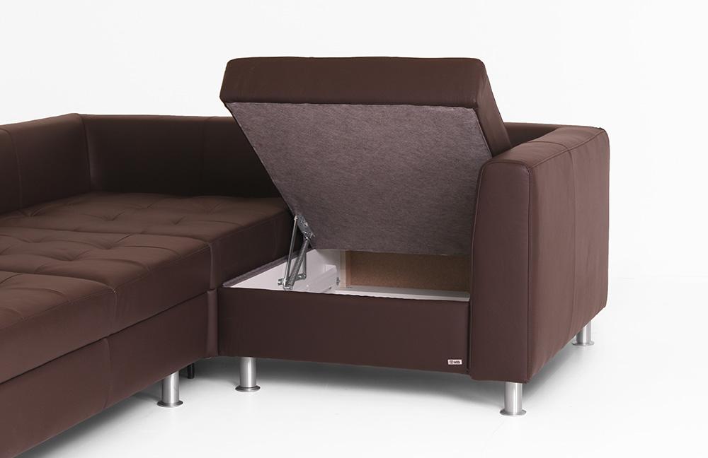 sedda polsterm bel ecksofa maximum in braun m bel letz ihr online shop. Black Bedroom Furniture Sets. Home Design Ideas