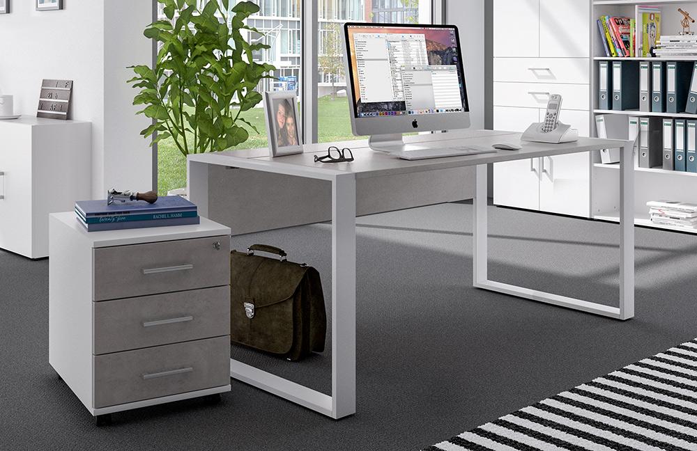 b rom bel wei beton von r hr bush m bel letz ihr online shop. Black Bedroom Furniture Sets. Home Design Ideas
