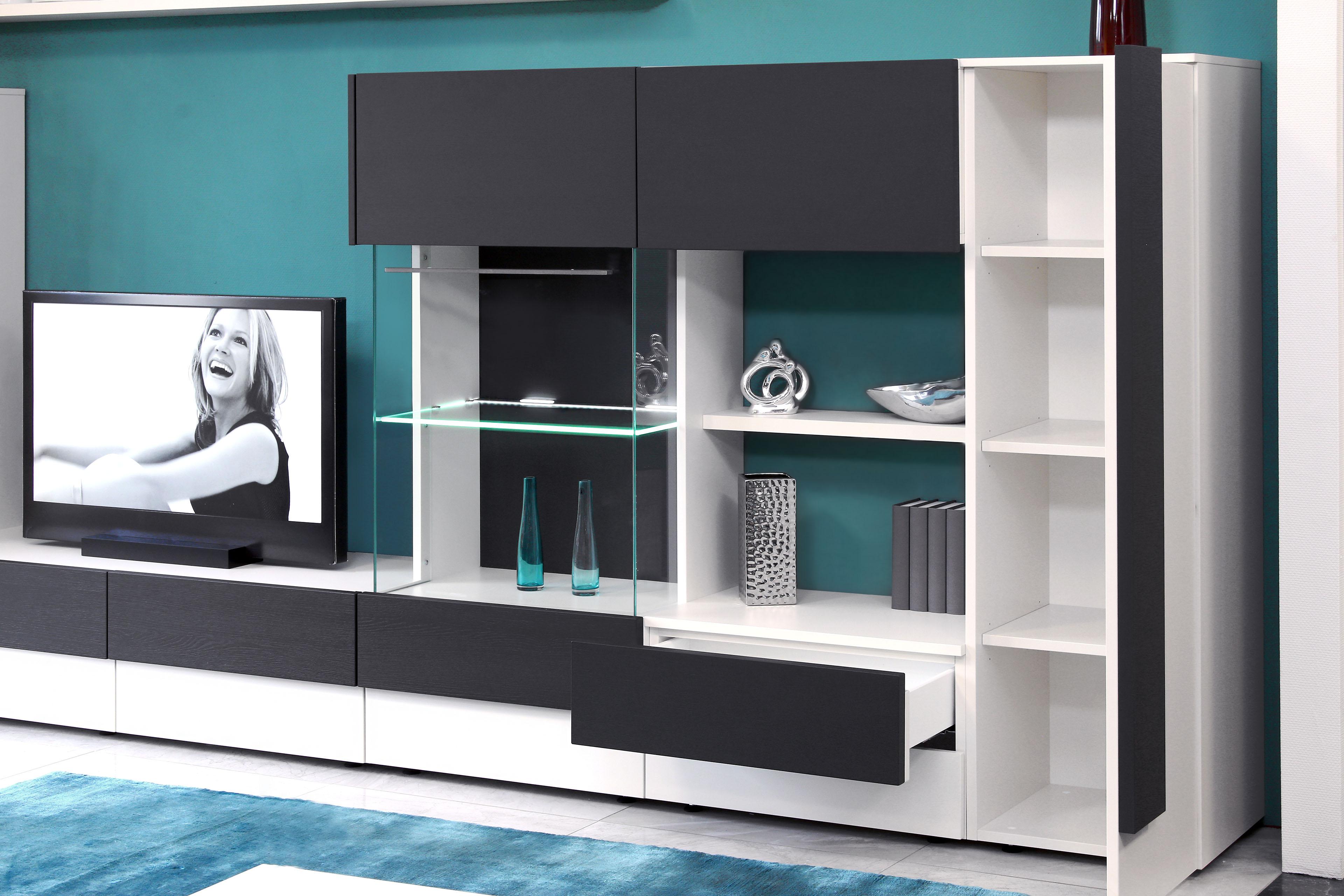 Wohnwand Caroliena EV06 aus der Kollektion Letz | Möbel Letz - Ihr ...