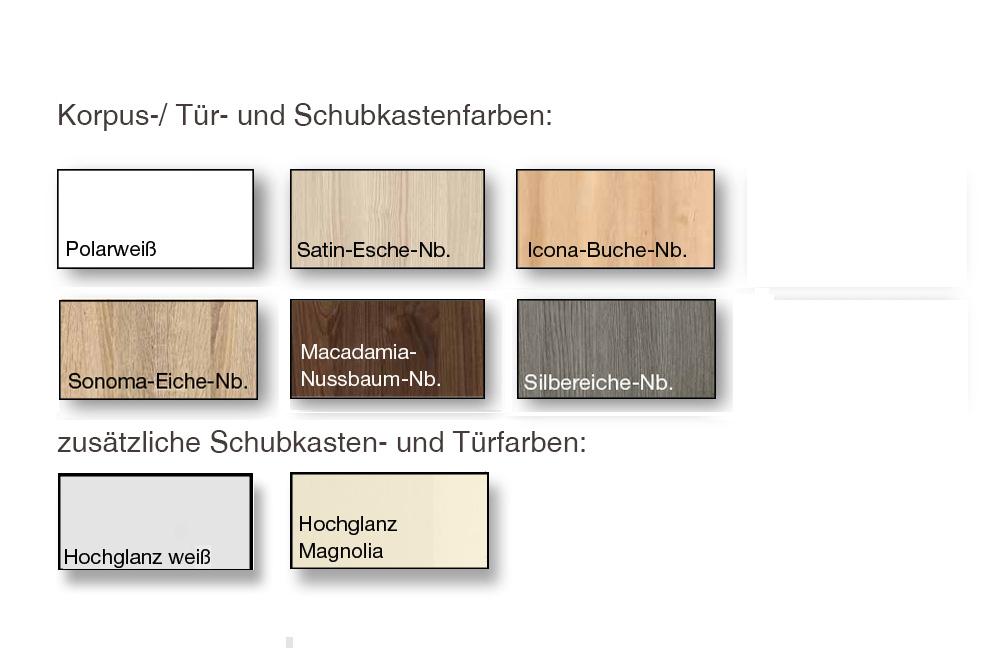 Nolte Möbel Alegro Eck-Kommode Nussbaum/ weiß  Möbel Letz - Ihr ...