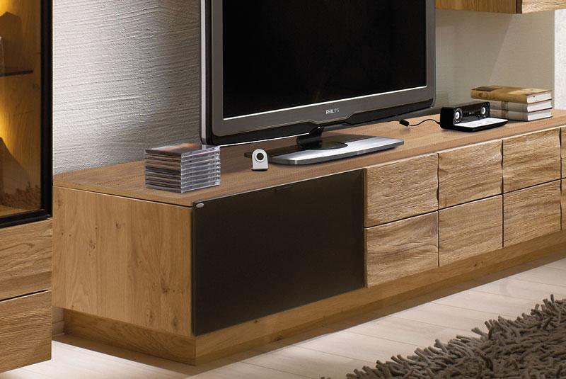 voglauer wohnwand v montana 173 wildeiche braun m bel letz ihr online shop. Black Bedroom Furniture Sets. Home Design Ideas