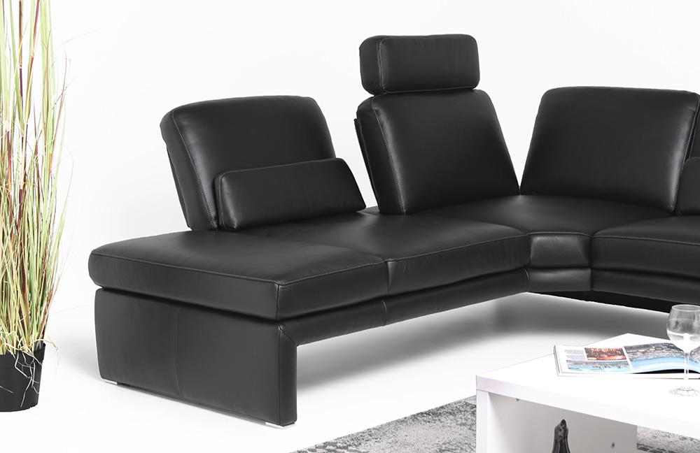 willi schillig manhatten ecksofa schwarz m bel letz. Black Bedroom Furniture Sets. Home Design Ideas