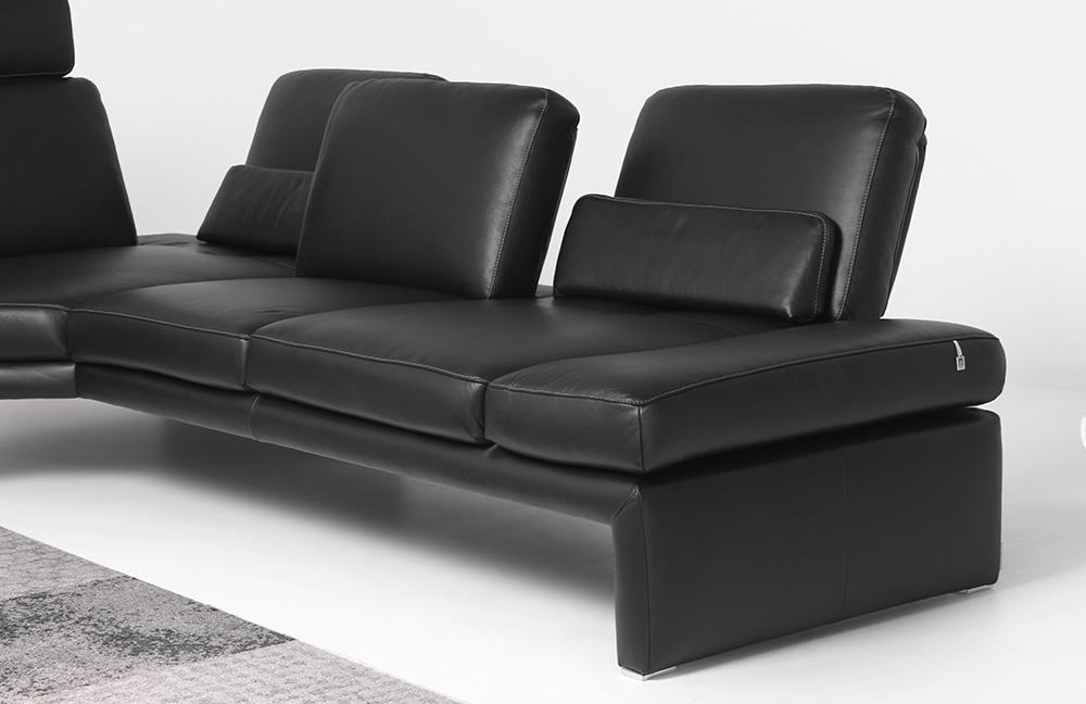 willi schillig manhatten ecksofa schwarz m bel letz ihr online shop. Black Bedroom Furniture Sets. Home Design Ideas
