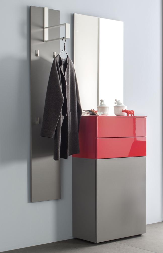 sudbrock garderobe ted onyxgrau orientrot m bel letz ihr online shop. Black Bedroom Furniture Sets. Home Design Ideas