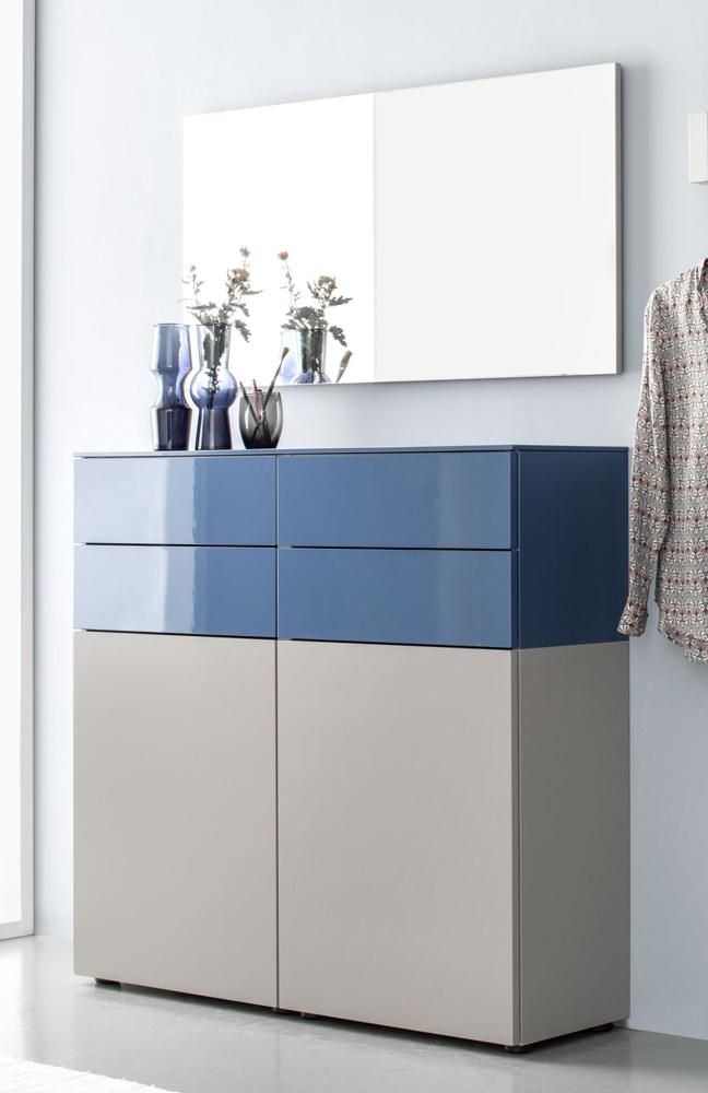 sudbrock garderobe ted terra blau m bel letz ihr online shop. Black Bedroom Furniture Sets. Home Design Ideas