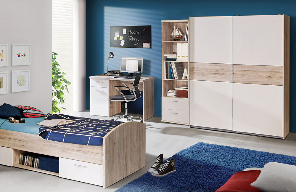 forte winnie kinderm bel sandeiche wei m bel letz ihr online shop. Black Bedroom Furniture Sets. Home Design Ideas
