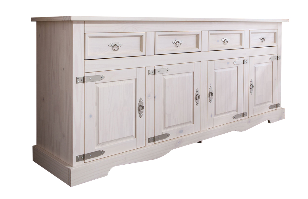 sideboard mexican kiefer wei von henke m bel m bel letz ihr online shop. Black Bedroom Furniture Sets. Home Design Ideas