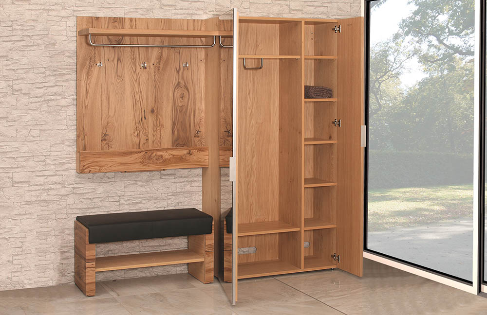garderobe v alpin viento von voglauer m bel letz ihr. Black Bedroom Furniture Sets. Home Design Ideas