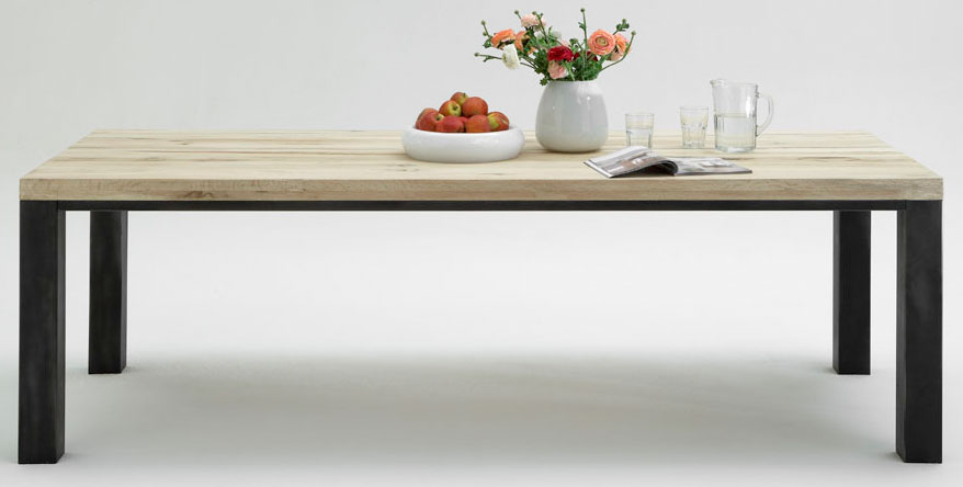 Esstisch White Sanded ~ Esstisch Valentino von BODAHL MØBLER  Möbel Letz  Ihr OnlineShop