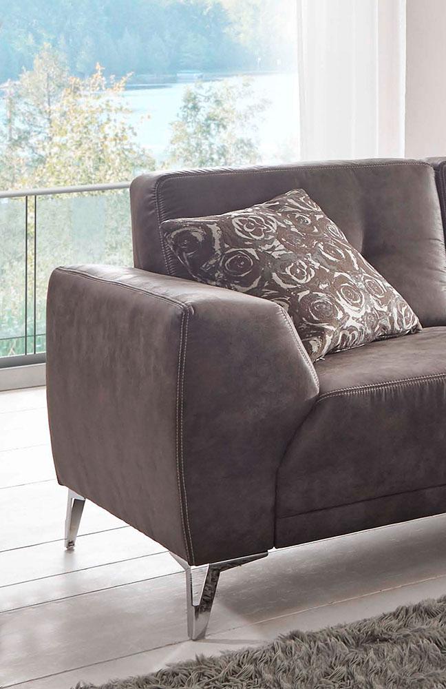 f s polsterm bel 259 dallas ecksofa anthrazit m bel letz ihr online shop. Black Bedroom Furniture Sets. Home Design Ideas