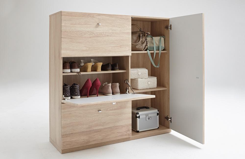 garderobe modena plus in sandeiche von prenneis m bel letz ihr online shop. Black Bedroom Furniture Sets. Home Design Ideas