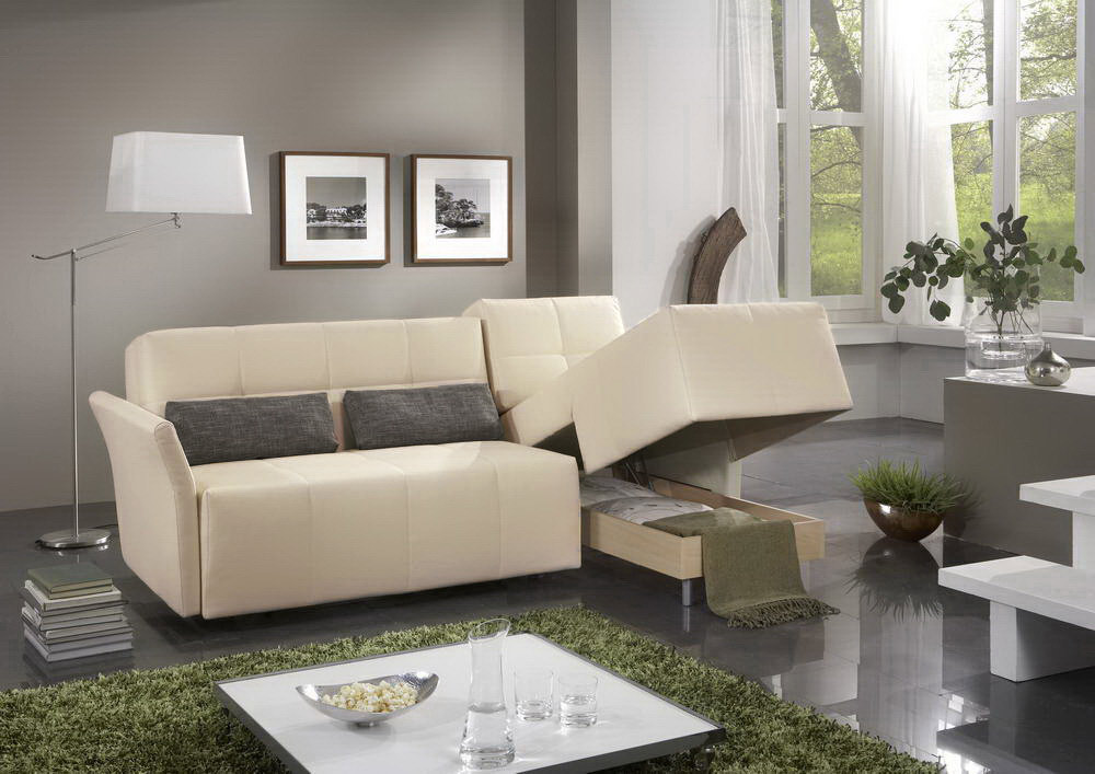 schlafsofa solino creme von nehl wohnideen m bel letz. Black Bedroom Furniture Sets. Home Design Ideas