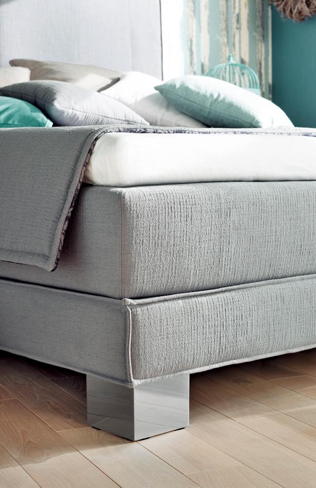 otten budaspest boxspringbett in grau m bel letz ihr online shop. Black Bedroom Furniture Sets. Home Design Ideas