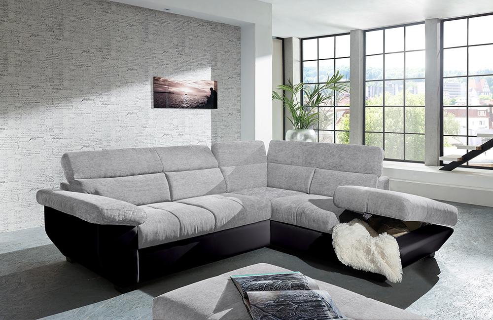 cotta speedway eckcouch pearl lava m bel letz ihr online shop. Black Bedroom Furniture Sets. Home Design Ideas