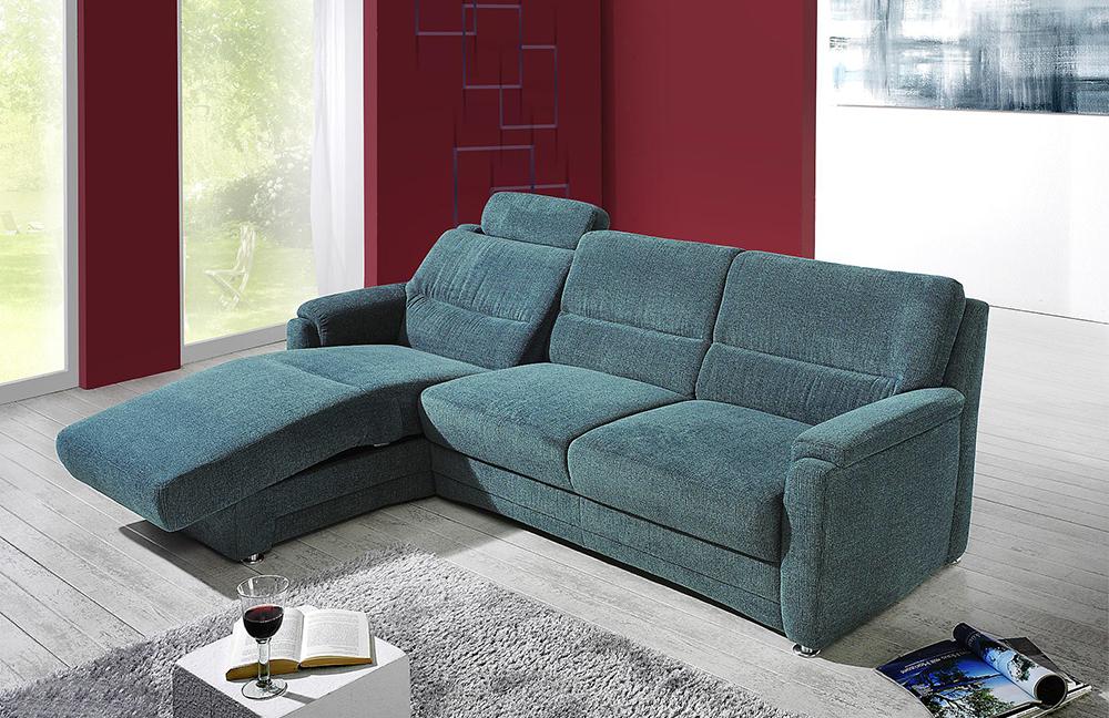 arco petit 3201 ecksofa petrol m bel letz ihr online shop. Black Bedroom Furniture Sets. Home Design Ideas