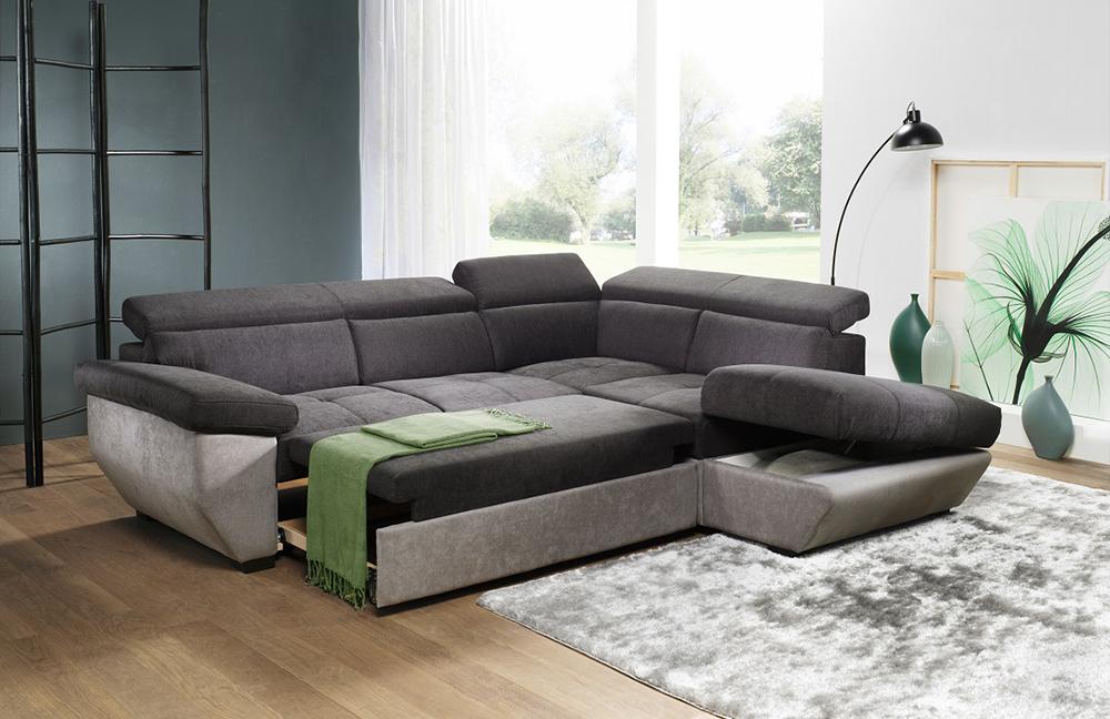 cotta speedway sofaecke dunkelgrau hellgrau m bel letz ihr online shop. Black Bedroom Furniture Sets. Home Design Ideas