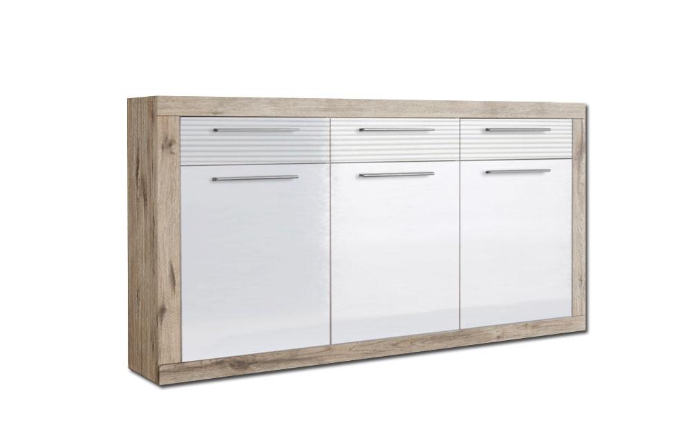Sideboard kolibri katherina 44 926 d9 von hbz meble for Sideboard sandeiche