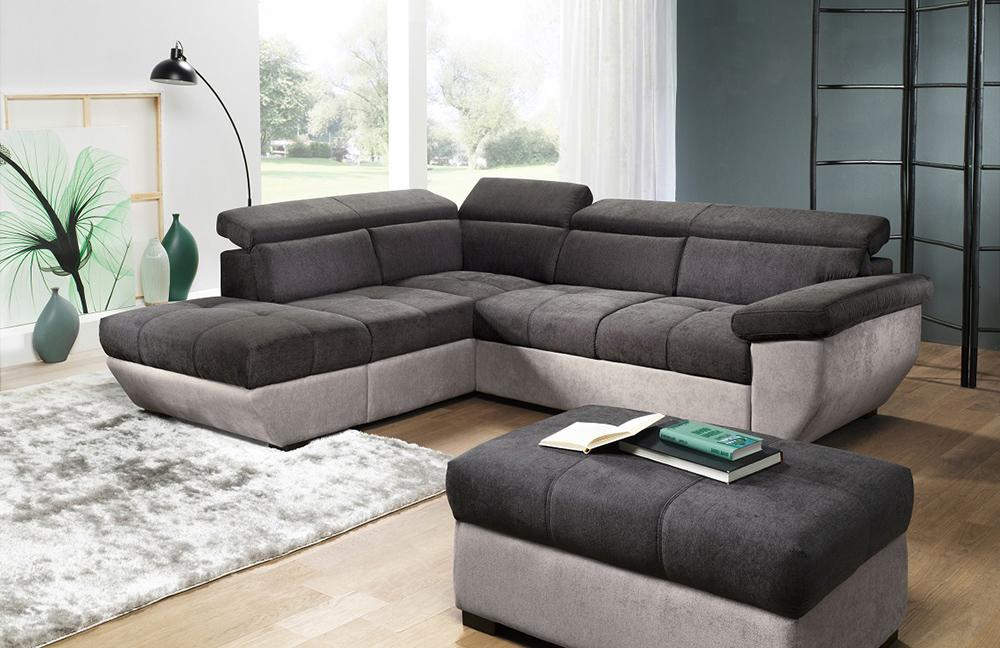 cotta speedway ecksofa anthrazit hellgrau m bel letz ihr online shop. Black Bedroom Furniture Sets. Home Design Ideas
