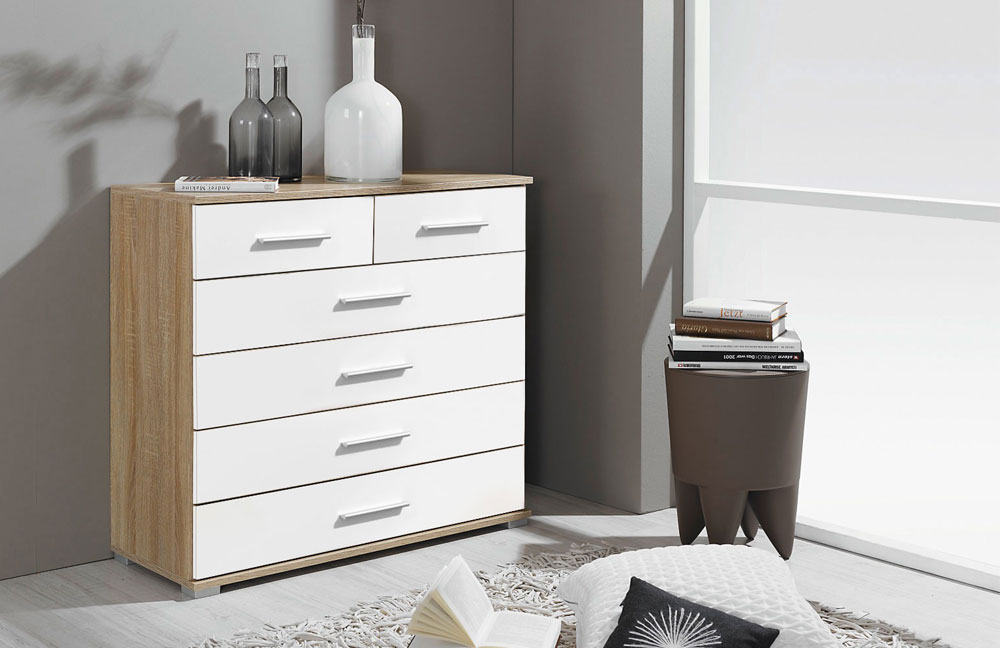 rauch vereno extra kommode sonoma eiche m bel letz ihr online shop. Black Bedroom Furniture Sets. Home Design Ideas