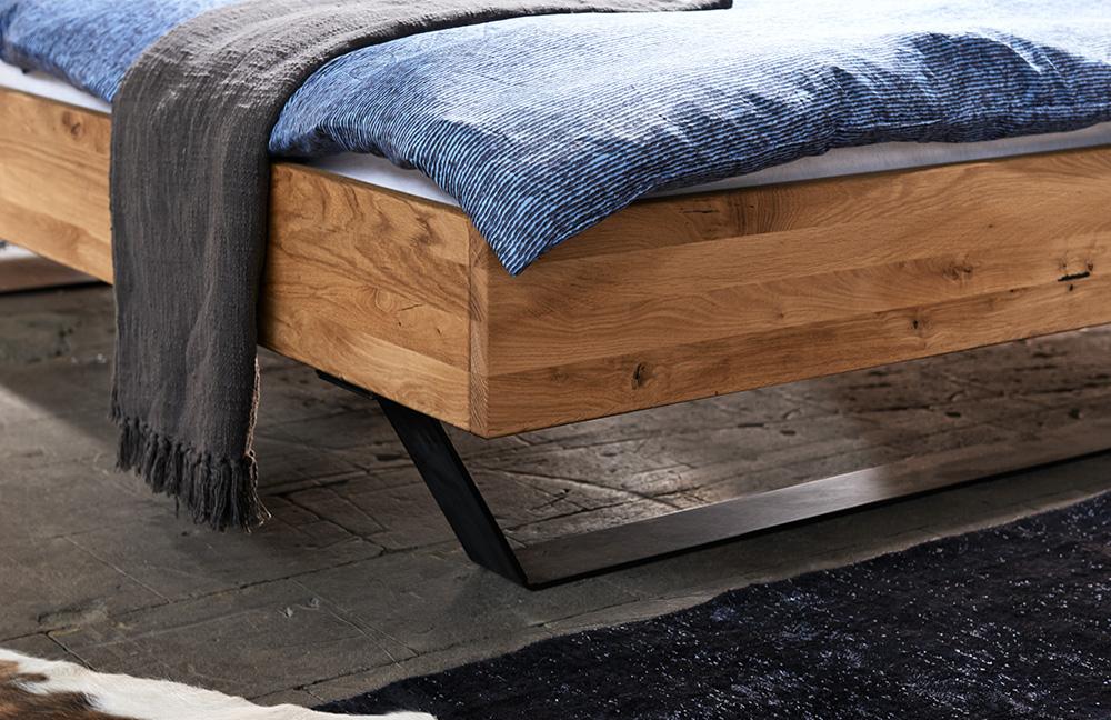 pure natur bett eiche ge lt m bel letz ihr online shop. Black Bedroom Furniture Sets. Home Design Ideas