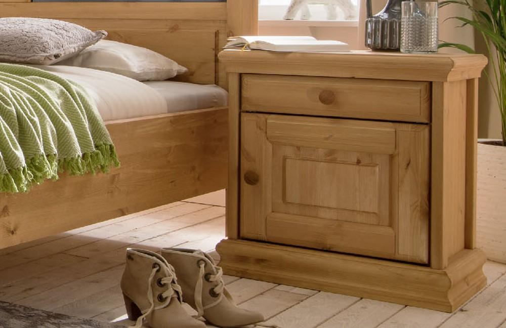 Pure Natur Landhaus-schlafzimmer Kiefer Massiv | Möbel Letz - Ihr ... Schlafzimmer Landhausstil Kiefer