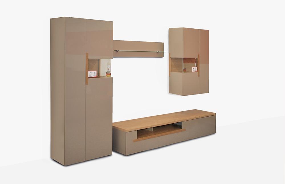 domina m bel wohnwand dubai 6 mit beleuchtung m bel letz ihr online shop. Black Bedroom Furniture Sets. Home Design Ideas