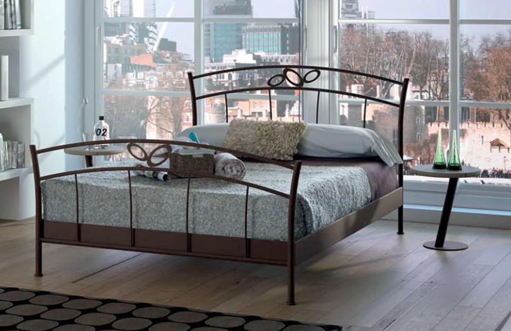 r sistub ludo metallbett braun lackiert m bel letz ihr online shop. Black Bedroom Furniture Sets. Home Design Ideas