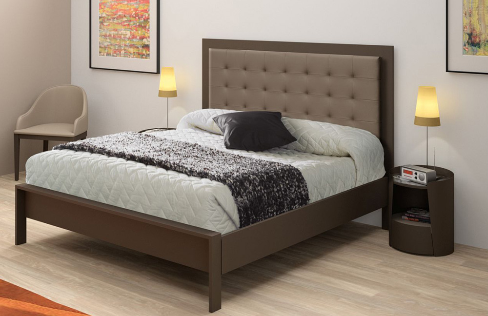r sistub brio luxe metallbett schoko m bel letz ihr online shop. Black Bedroom Furniture Sets. Home Design Ideas