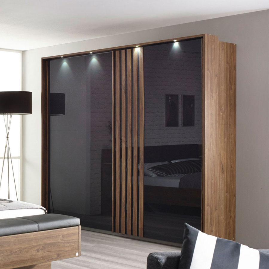 rauch mosbach set eiche stirling glas m bel letz ihr online shop. Black Bedroom Furniture Sets. Home Design Ideas