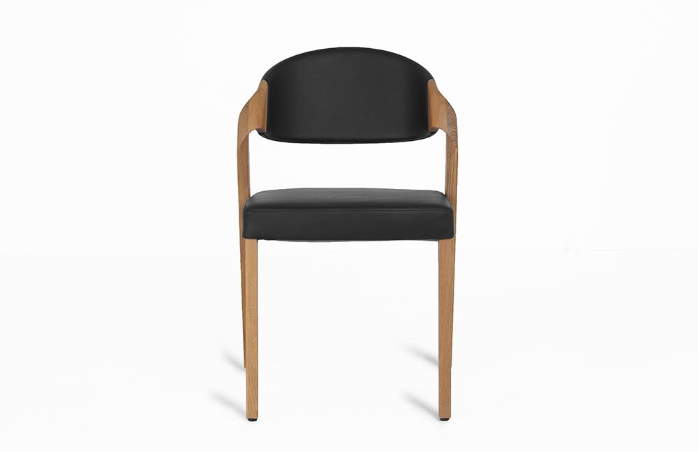 voglauer stuhl 35 eiche altholz leder schwarz m bel. Black Bedroom Furniture Sets. Home Design Ideas