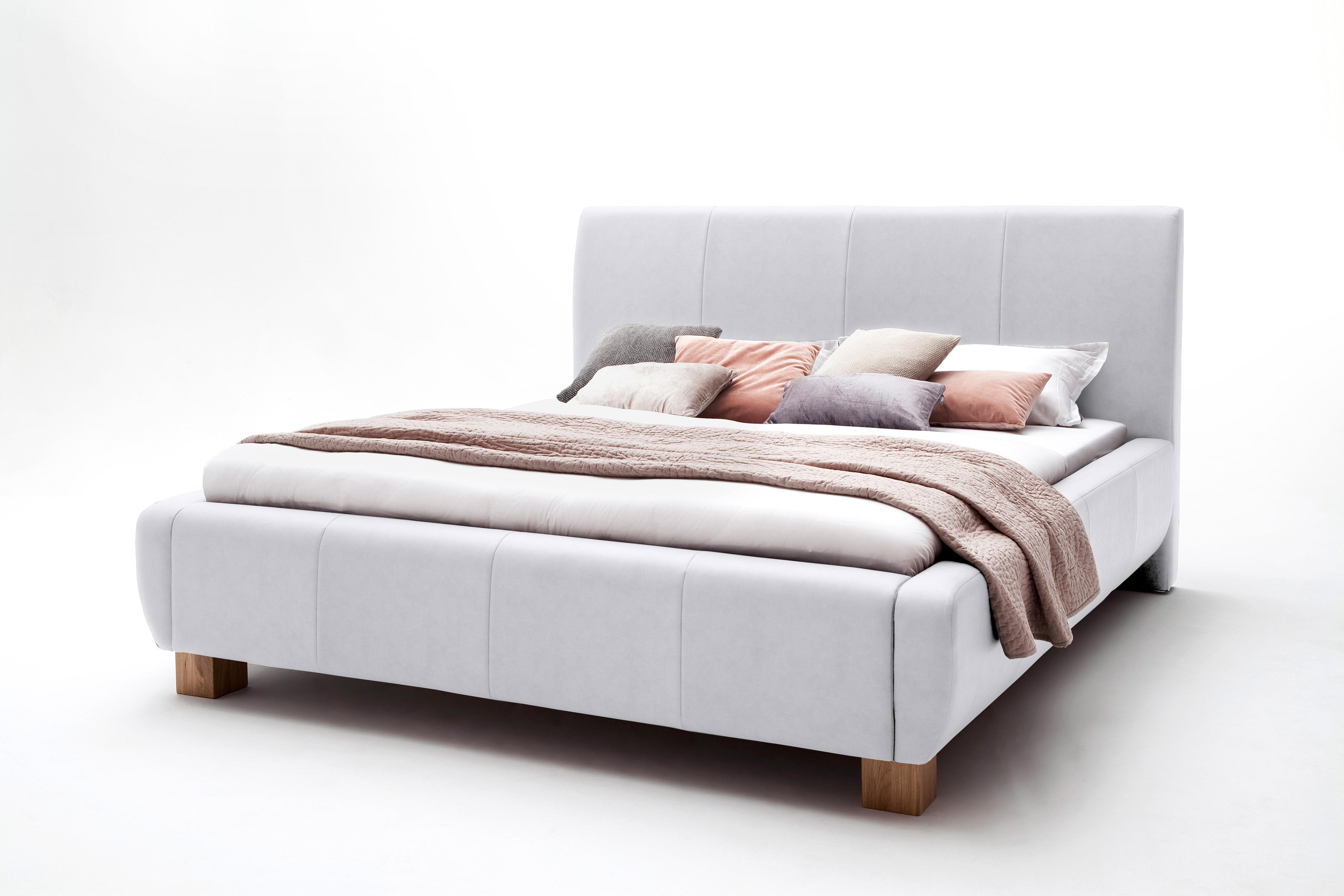 meise m bel fashion polsterbett in kunstleder wei antik. Black Bedroom Furniture Sets. Home Design Ideas