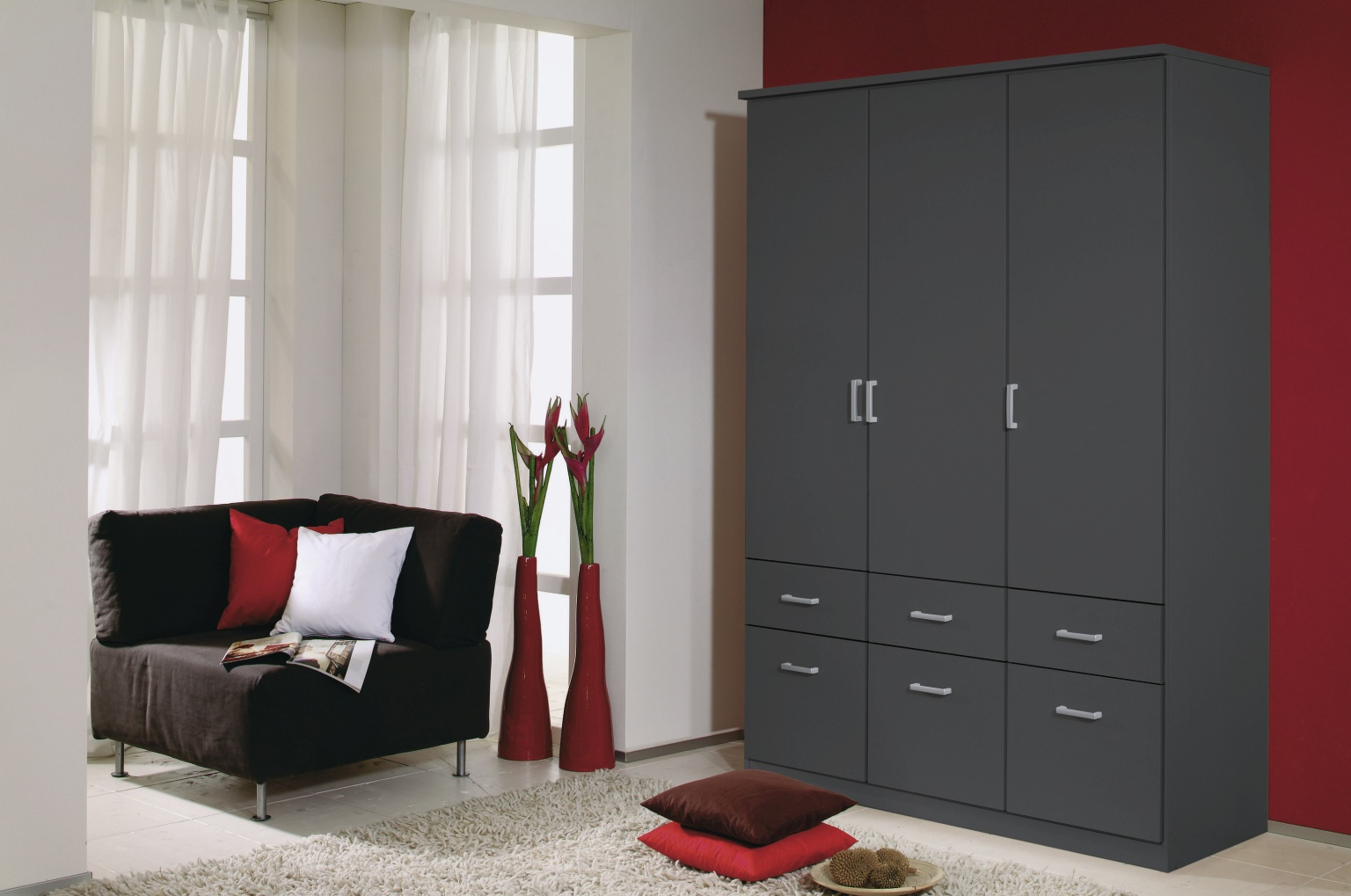rauch bremen eiche stirling front wei m bel letz ihr online shop. Black Bedroom Furniture Sets. Home Design Ideas