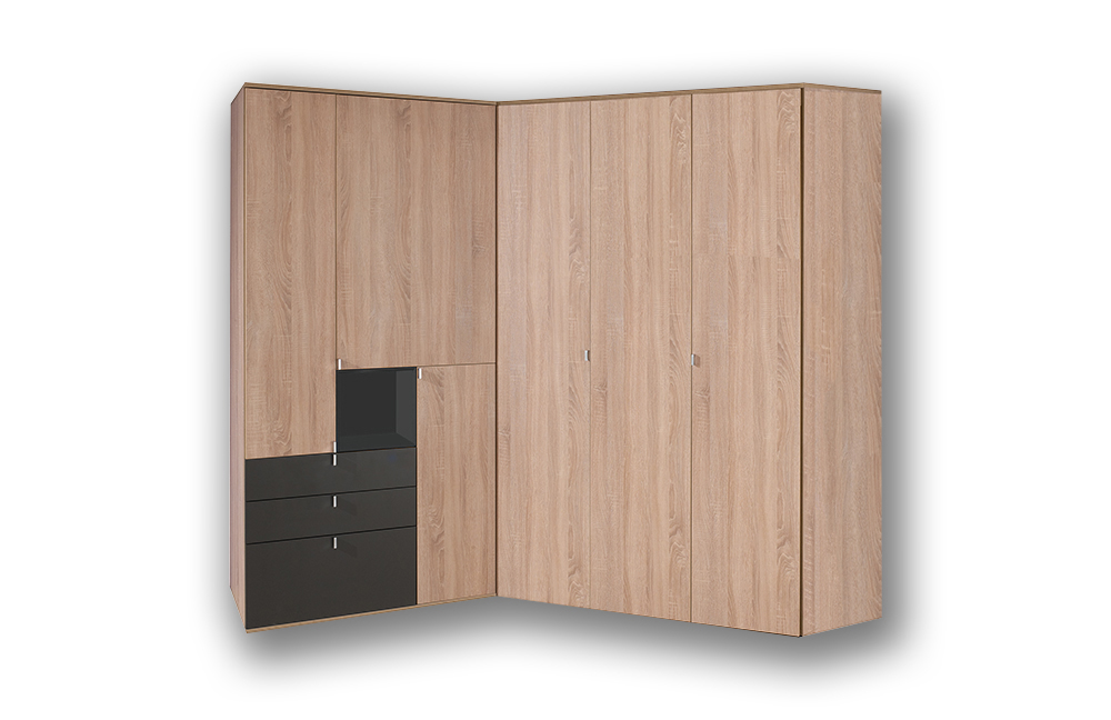 eckschrank eiche eckschrank funktionsschrank tom sonoma. Black Bedroom Furniture Sets. Home Design Ideas