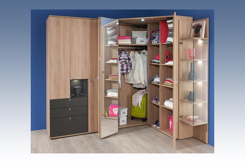 rudolf chatroom schrank kombi eiche grau m bel letz ihr online shop. Black Bedroom Furniture Sets. Home Design Ideas