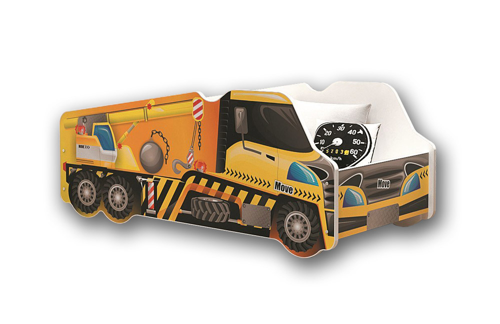 kinder auto bett berlin autobett turbo v grau roomido. Black Bedroom Furniture Sets. Home Design Ideas