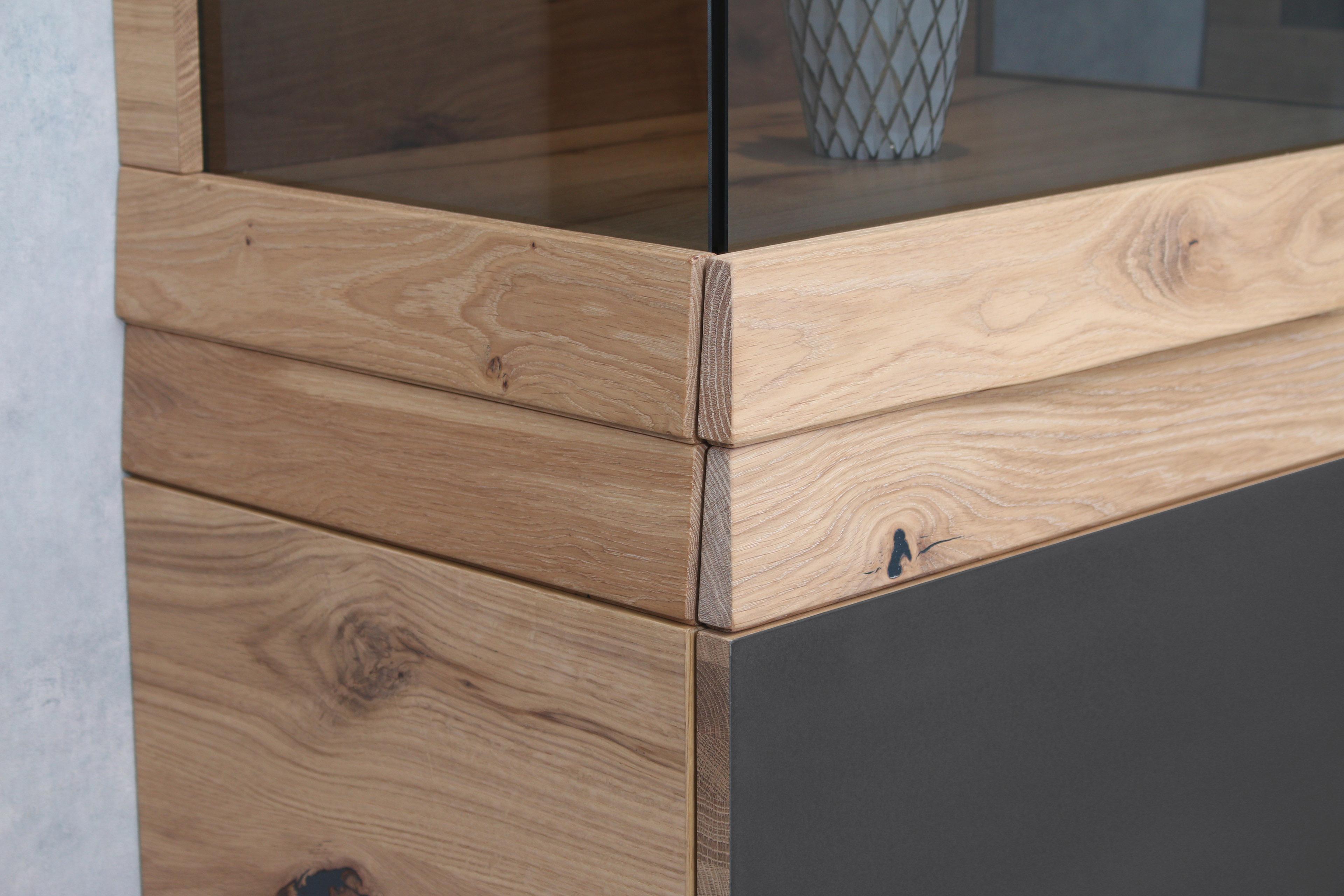 voglauer vitrine v organo living 64 wildeiche m bel letz ihr online shop. Black Bedroom Furniture Sets. Home Design Ideas