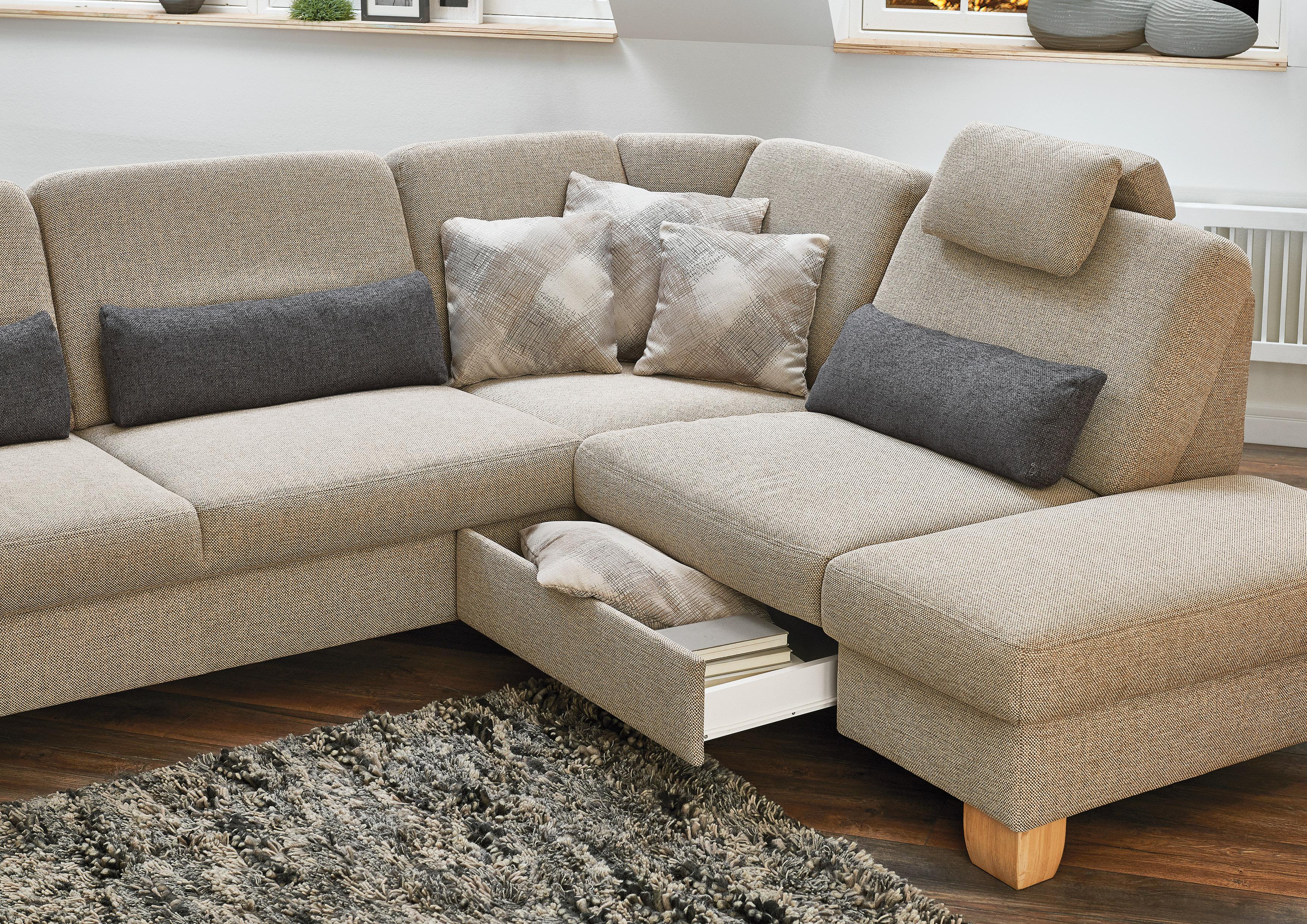 polipol cap ecksofa sand m bel letz ihr online shop. Black Bedroom Furniture Sets. Home Design Ideas