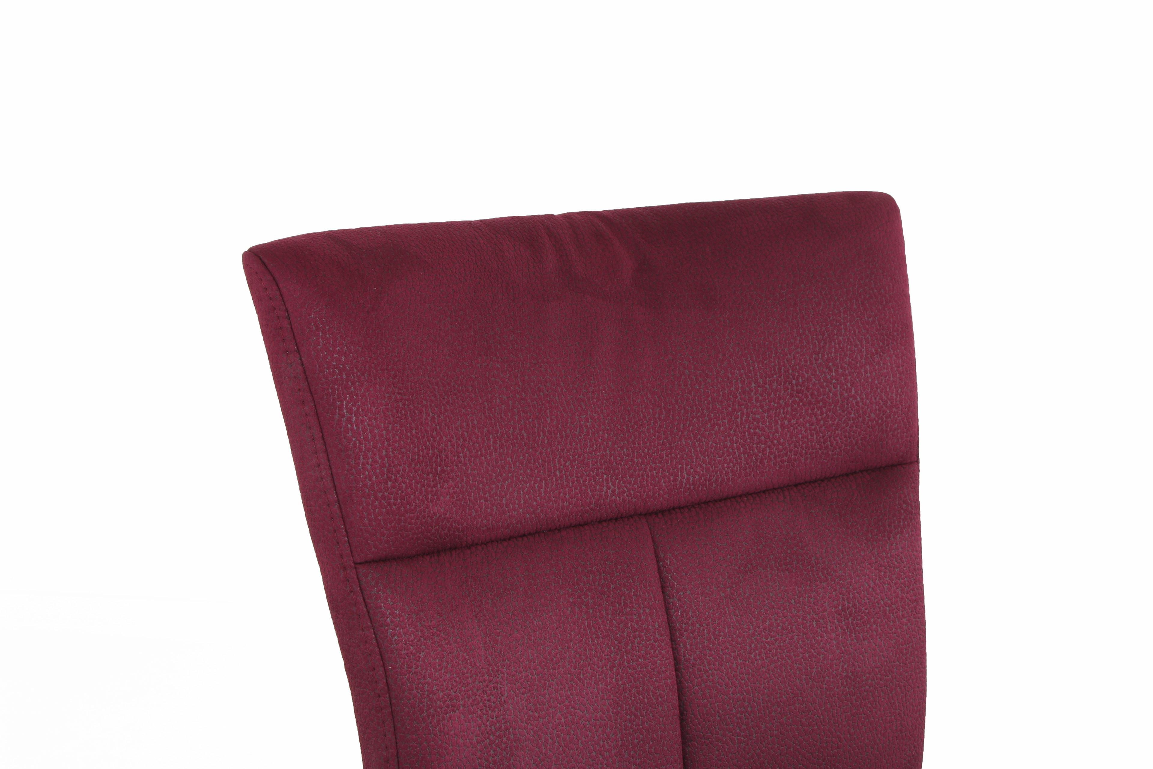 niehoff sitzm bel freischwinger super sedia rot m bel letz ihr online shop. Black Bedroom Furniture Sets. Home Design Ideas