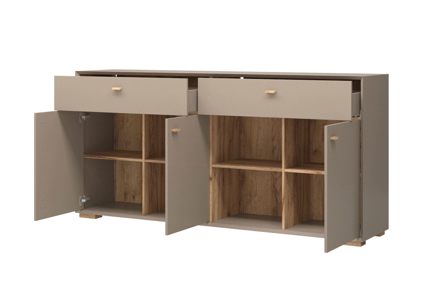 germania sideboard calvi steingrau eiche m bel letz ihr online shop. Black Bedroom Furniture Sets. Home Design Ideas