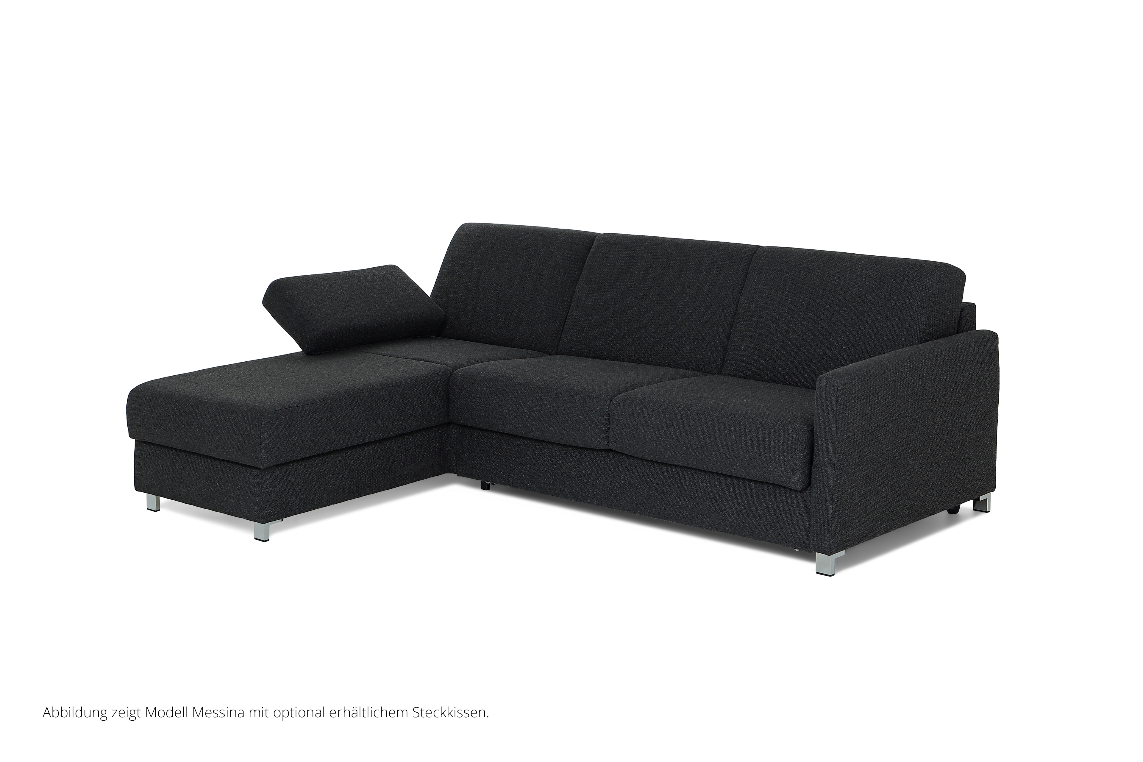 schlafsofa messina grau von bali polsterm bel m bel letz ihr online shop. Black Bedroom Furniture Sets. Home Design Ideas
