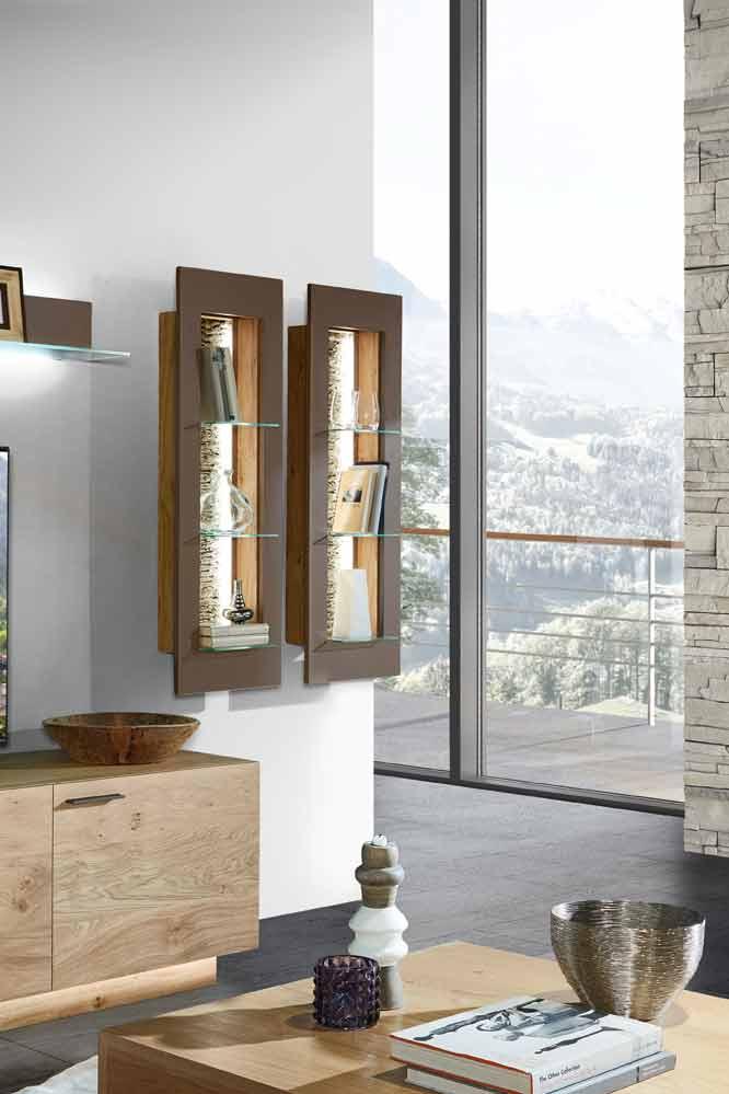 schr der m bel wohnwand k006 pur kernwildasteiche terra m bel letz ihr online shop. Black Bedroom Furniture Sets. Home Design Ideas