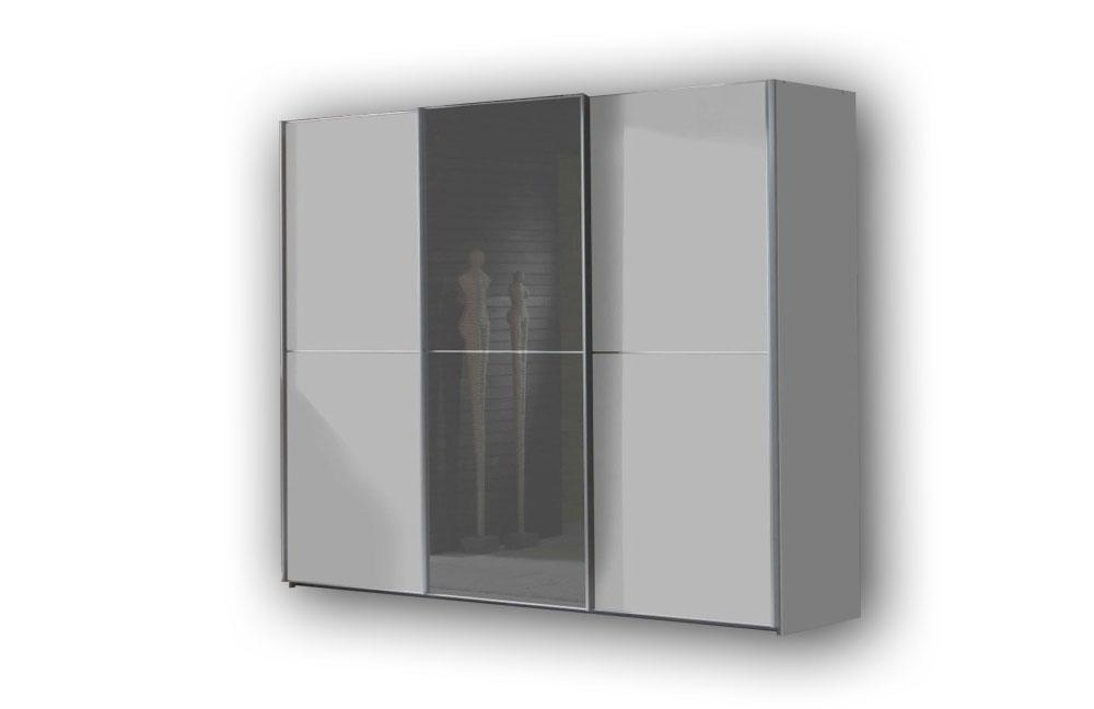 wiemann miami schrank wei grau m bel letz ihr online shop. Black Bedroom Furniture Sets. Home Design Ideas