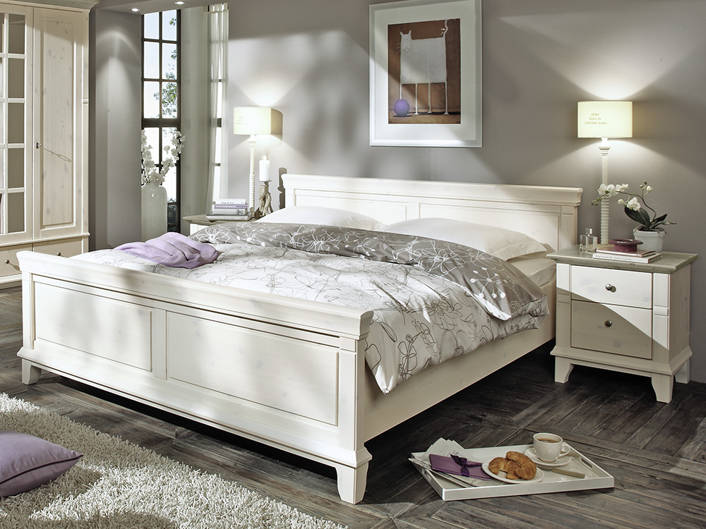 lmie georgia kiefer massiv wei grau m bel letz ihr online shop. Black Bedroom Furniture Sets. Home Design Ideas