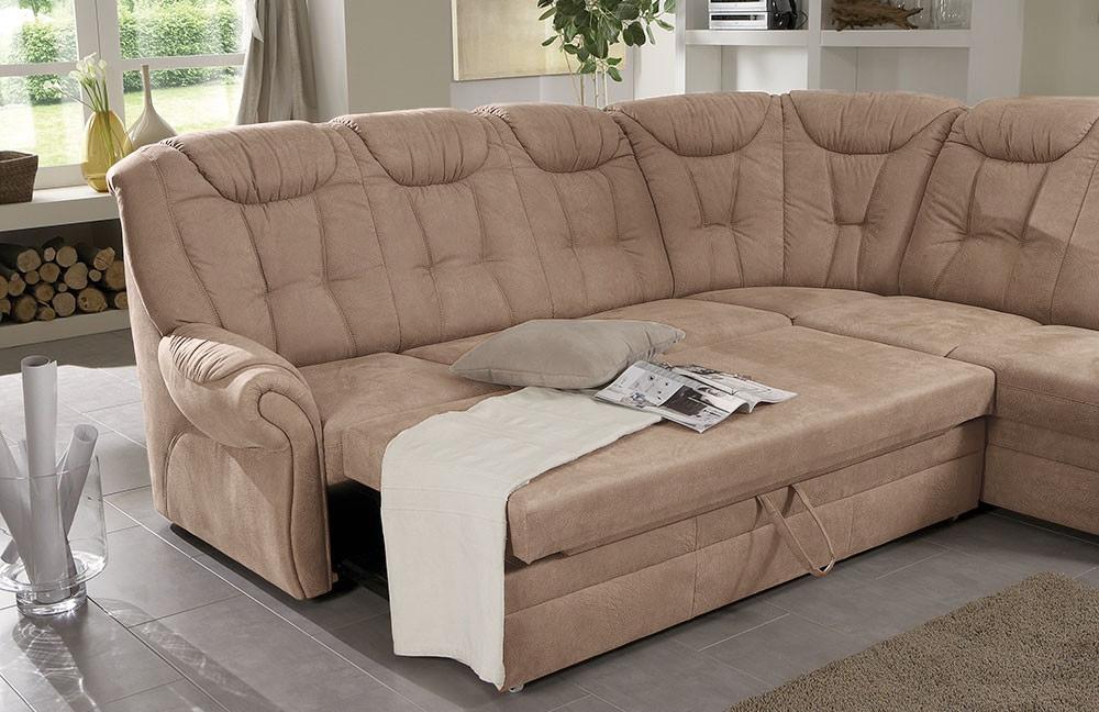 polipol polsterm bel ecksofa male braun m bel letz ihr online shop. Black Bedroom Furniture Sets. Home Design Ideas