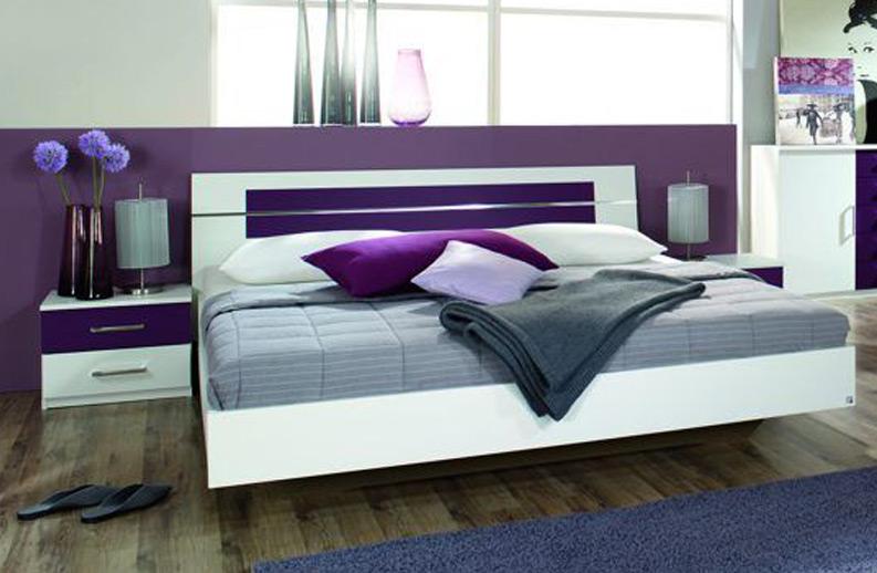 Schlafzimmer : schlafzimmer weiu00df brombeer Schlafzimmer ...