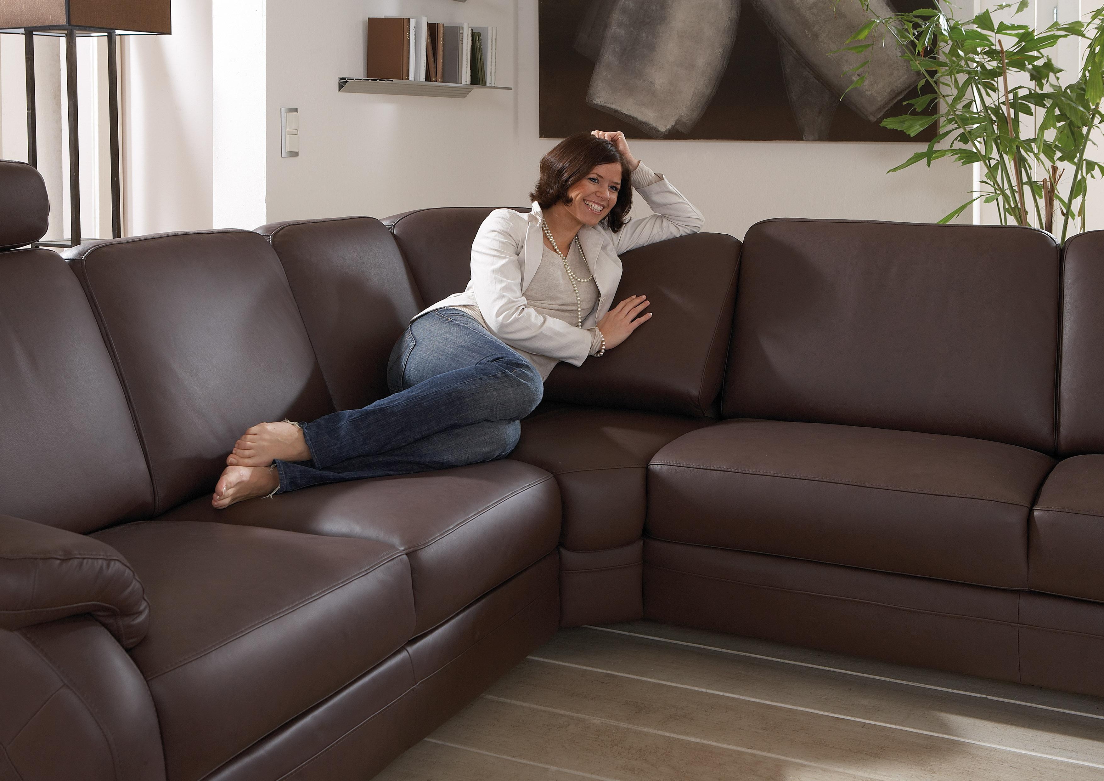 polinova tavira l wohnlandschaft braun m bel letz ihr. Black Bedroom Furniture Sets. Home Design Ideas