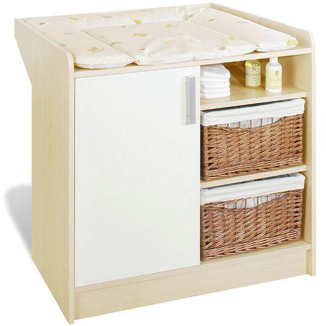 pinolino babyzimmer florian ahorn cremeweiß | möbel letz - ihr