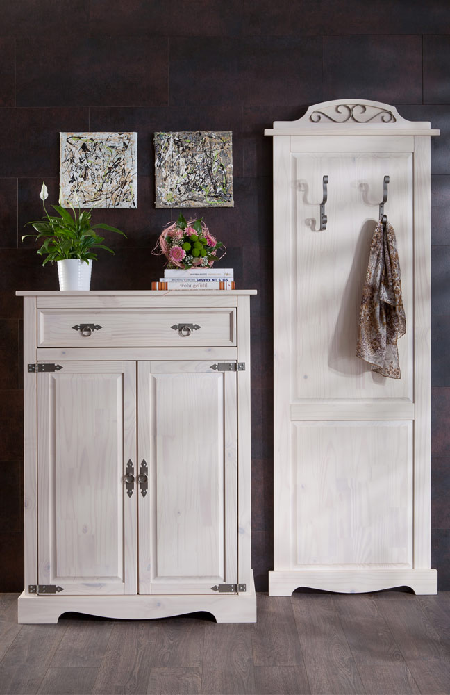 garderobe mexican kiefer henke m bel m bel letz ihr online shop. Black Bedroom Furniture Sets. Home Design Ideas