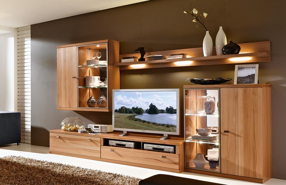 rietberger m belwerke wohnwand largo 6258 teilmassive. Black Bedroom Furniture Sets. Home Design Ideas