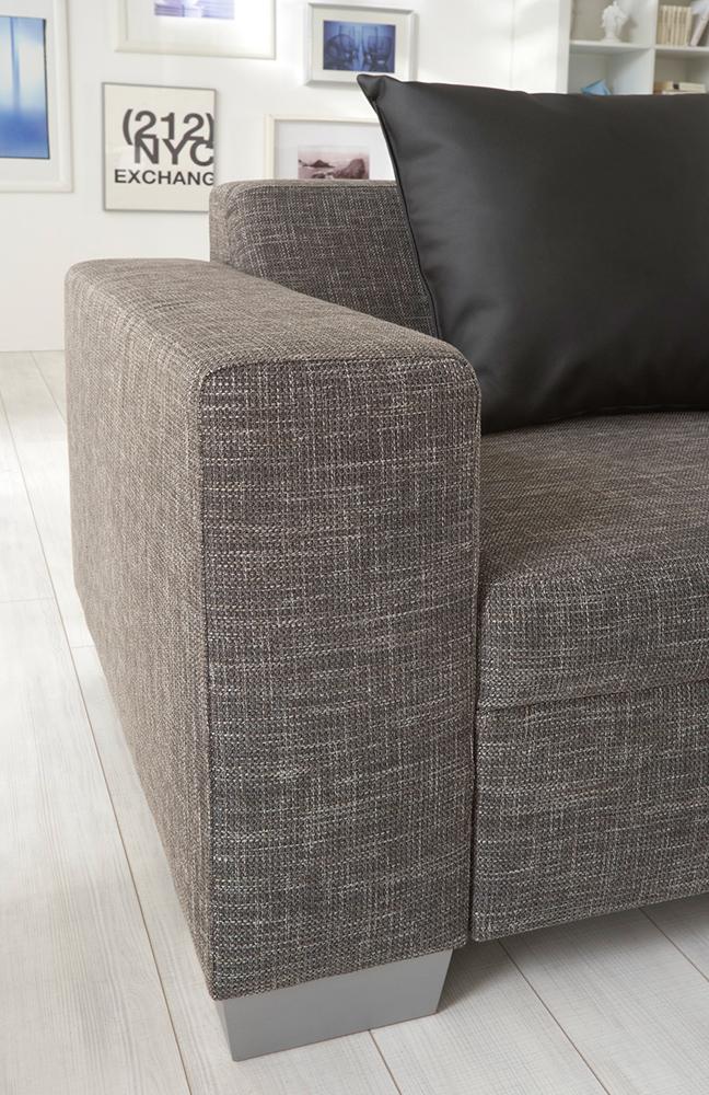 new look m bel base eckgarnitur in braun m bel letz ihr online shop. Black Bedroom Furniture Sets. Home Design Ideas